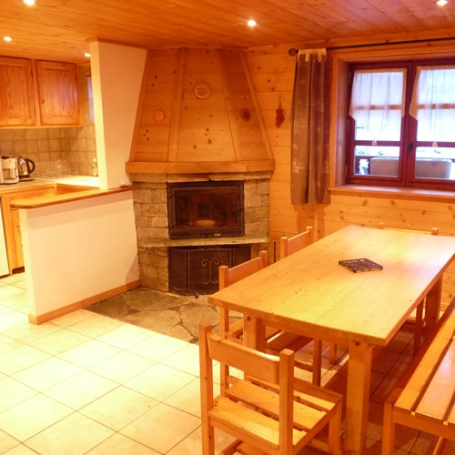 Appartement l'Ourson chalet La Clavarine Bonneval sur Arc